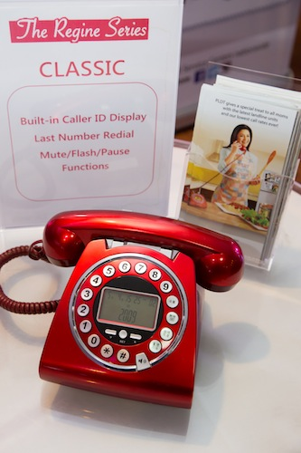 The Regine Series includes an updated version of the classic and well-loved PLDT landline unit.