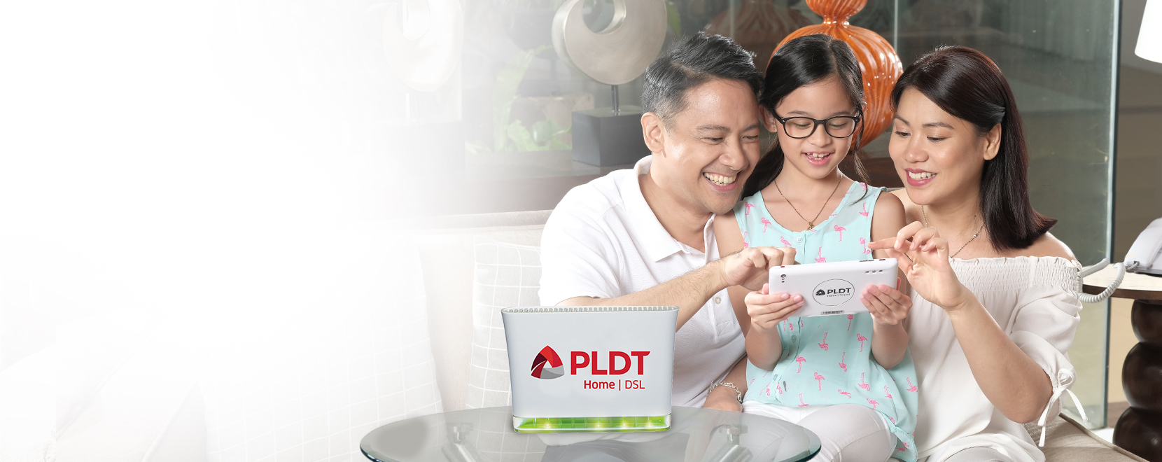 DSL Internet Connection - PLDT HOME