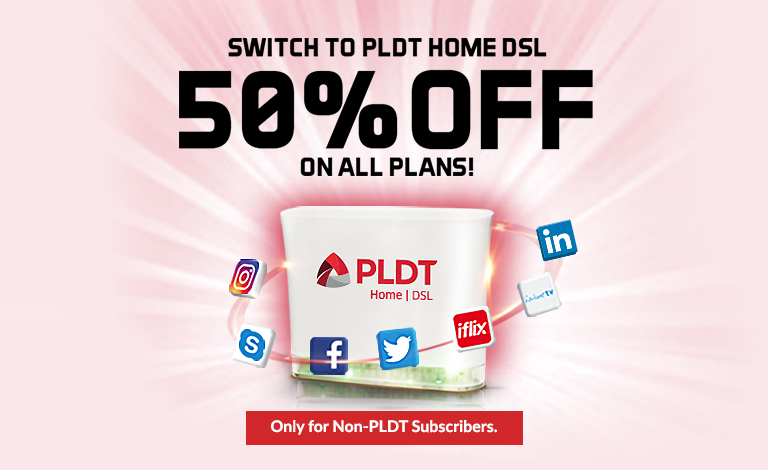 DSL Switch Promo