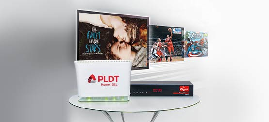 PLDT HOME DSL Entertainment FamPlans