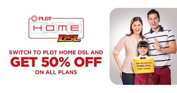 Charmant PLDT HOME DSL Special Promo