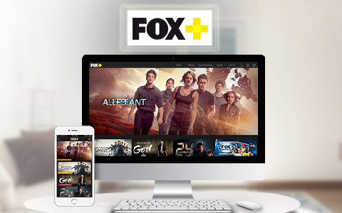 Upgrade your entertainment with FOX+
