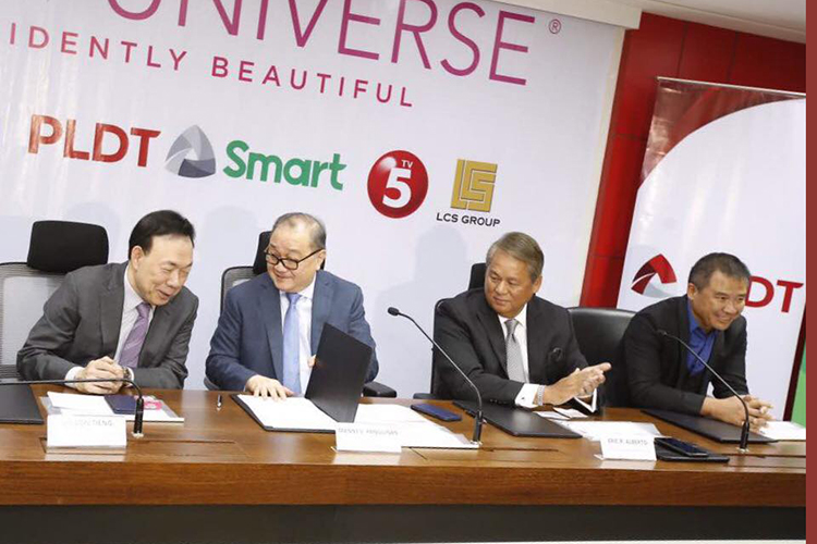 65th Miss Universe Contract Signing