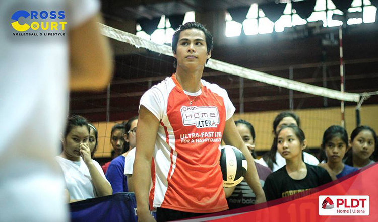 Alyssa Valdez Skills Camp at CSA Binan, Laguna 2016