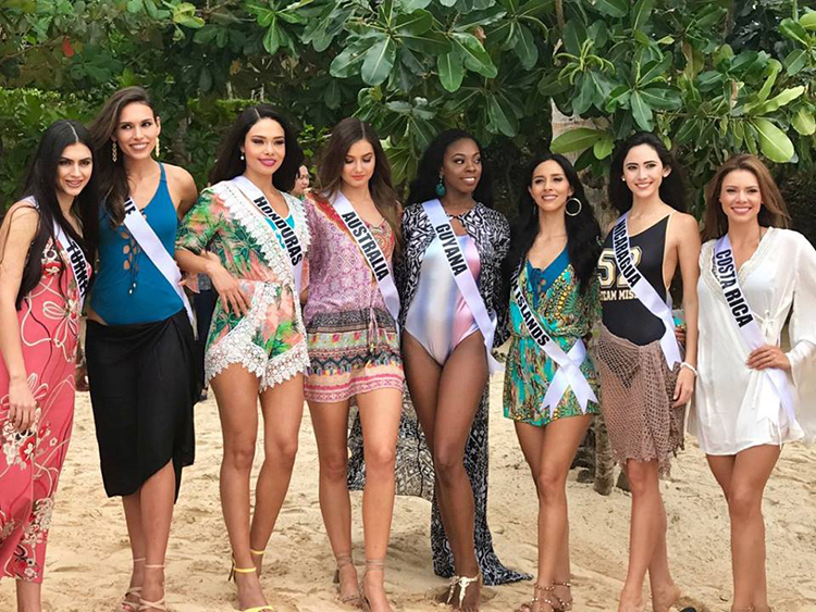 Miss Universe in Boracay