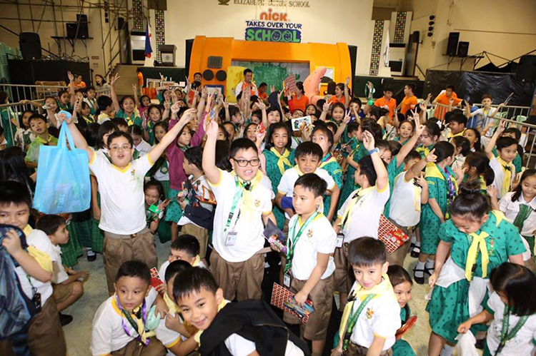 Nickelodeon Takes Over Your School with #PLDTHOMETelpad