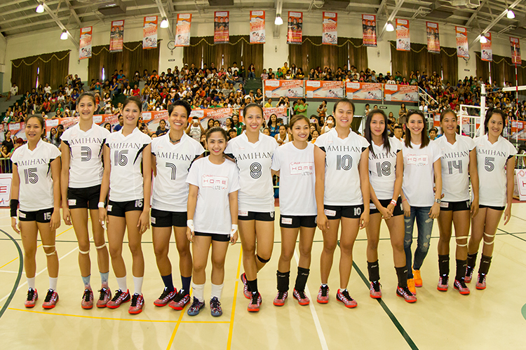 Amihan volleyball superstars