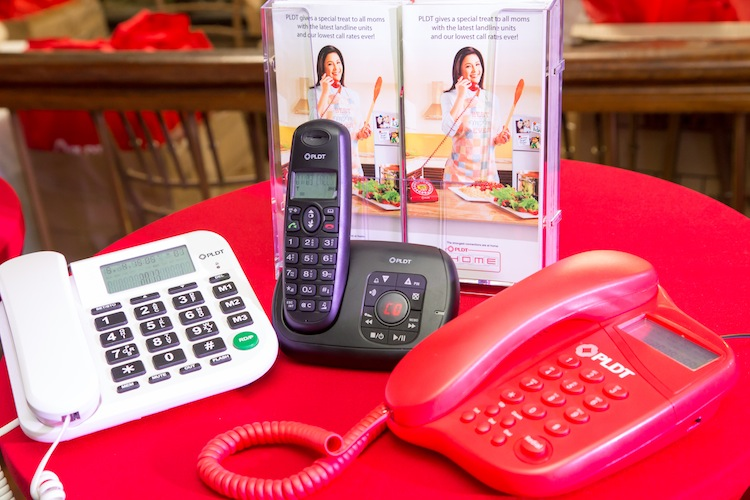 In honor of Mother's Day, PLDT HOME launches limited edition landline units dubbed The Regine Series.