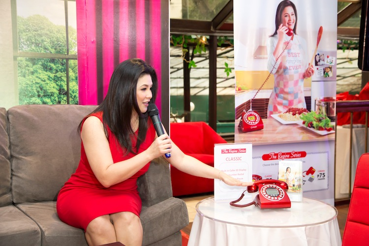 Regine Velasquez talks about the importance of having PLDT landline at home, especially for moms like her.