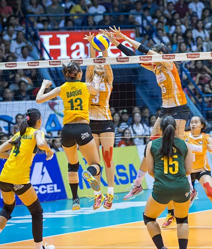 The five-set game was nothing short of an intensely close battle and an adrenaline-pumping volleyball showcase.