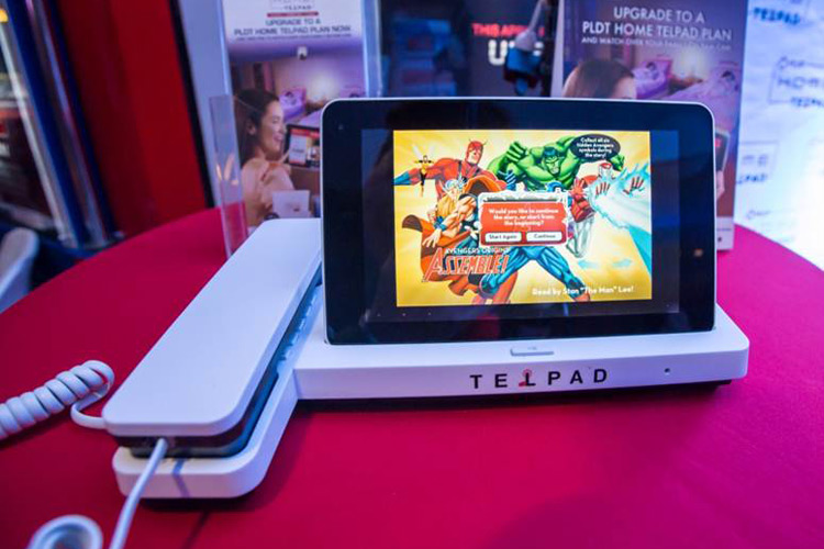 PLDT HOME Telpad subscribers can upgrade to a Disney kiddie package for as low as P99 per month. The basic package already includes Disney Telpad skins and games.