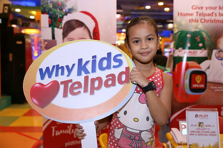 #PLDTHOMETelpad Tom's World Kids' Fun Day