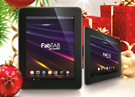 Reward yourself with a FabTab Quadro 7 when you update your contact details