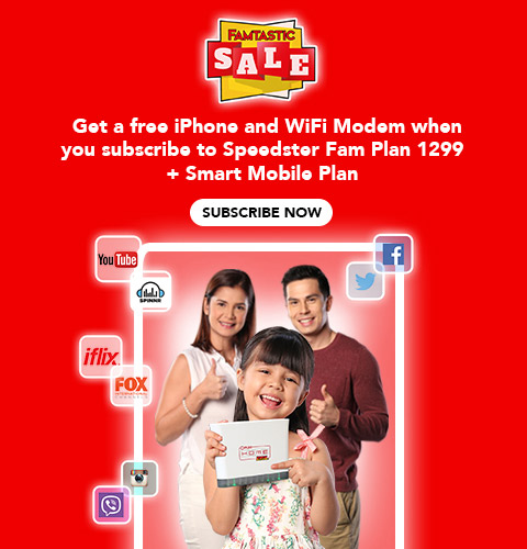 PLDT HOME DSL Famtastic Sale