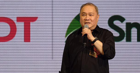 PLDT and Smart Chairman and CEO Manuel V. Pangilinan