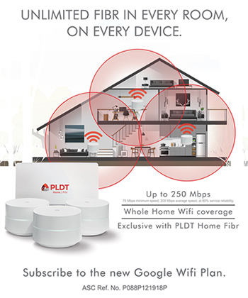 PLDT introduces a new era of home broadband with all-new Google Wifi Plans