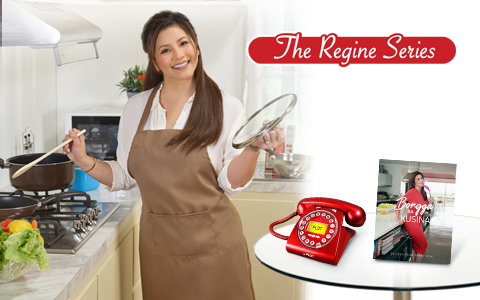 Upgrade to a Regine Series Telset now and get a FREE Cookbook!