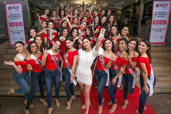 PLDT and Bb. Pilipinas