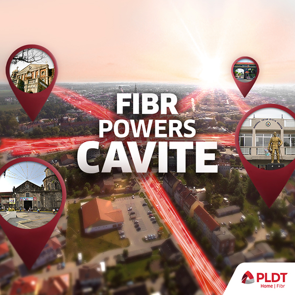 Cavite becomes first PLDT Fibr-powered Smart Province