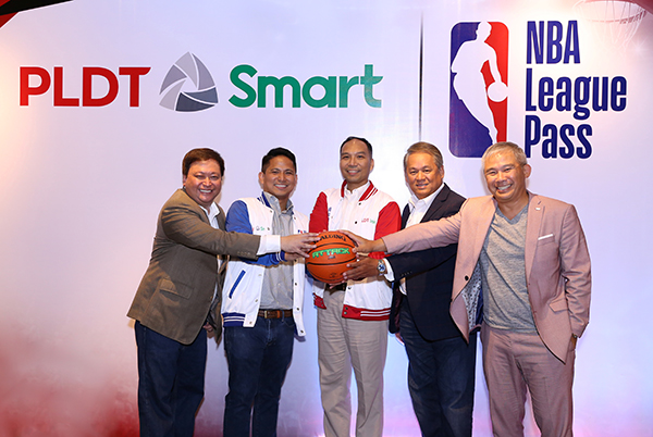NBA and PLDT Partners