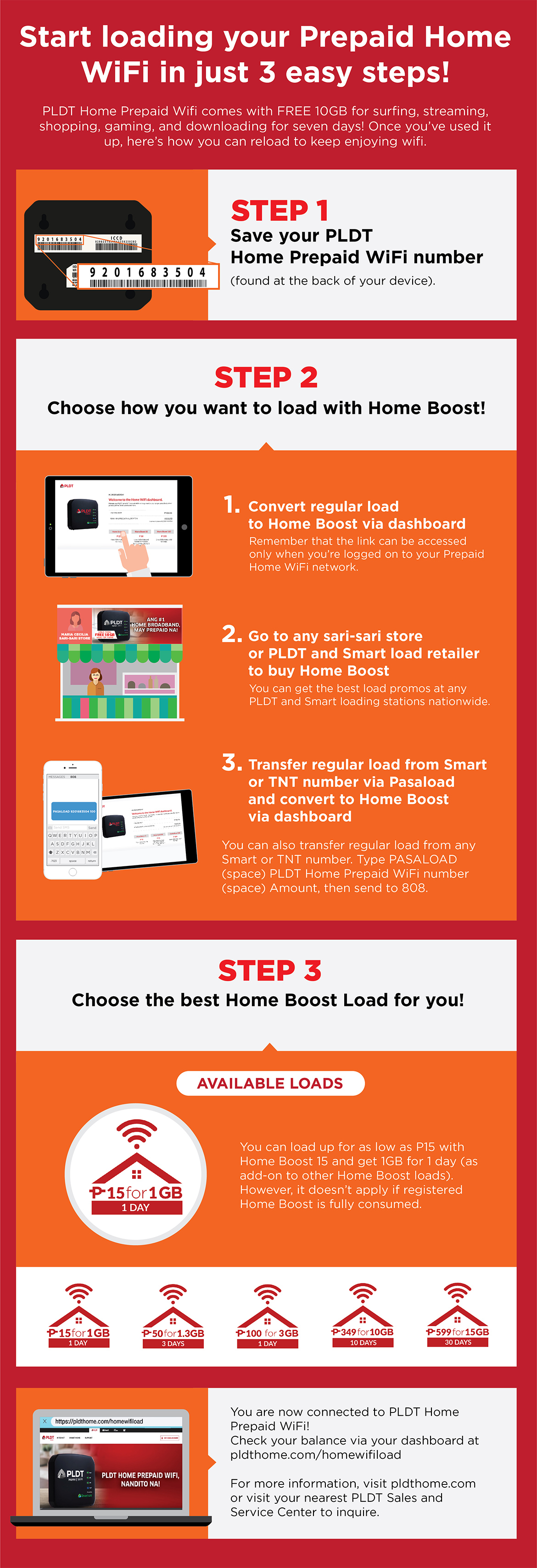 LOOK: Loading your PLDT Home Prepaid Wifi is so Easy!
