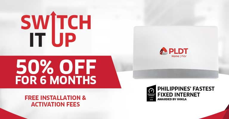 Switch it up 50% OFF for 6 months!