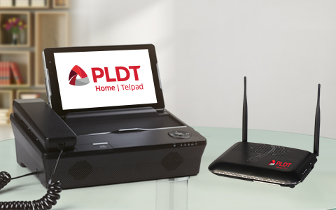 The most advanced PLDT Home Telpad!