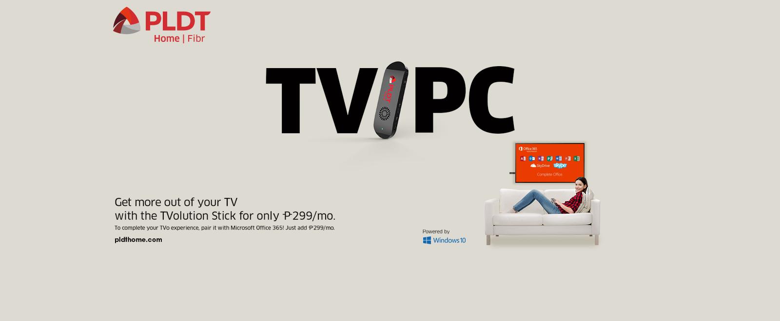 TVolution Stick | PLDT HOME