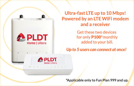 PLDT HOME Ultera Devices